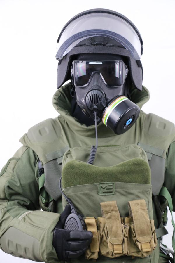 O'C50 masque NRBC et amplificateur de voix déporté